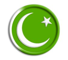 Pakistan Shield For Olympics Stock Photography