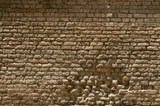 Free Broken Stone Brick Wall Royalty Free Stock Image - 5692226