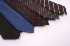 Free Five Neckties In A Row Stock Photo - 5693030