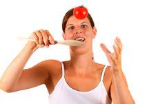 Free Jumping Tomato Stock Photo - 5693100