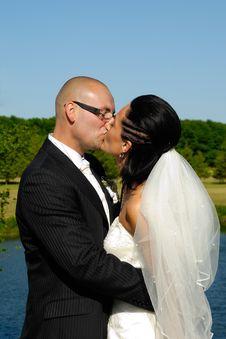 Free Wedding Kiss Stock Photo - 5693170