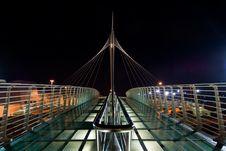 Free Bridge At Night Royalty Free Stock Images - 5693429