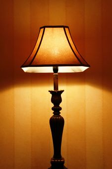 Free Romantic Lamp Royalty Free Stock Photography - 5693457