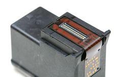 Free Ink Cartridge With Print Head Stock Photos - 5693563