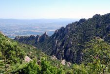 Free Montserrat Mountain. Royalty Free Stock Photo - 5694185