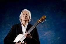Free Classical Guitarist Royalty Free Stock Photography - 5695077