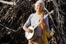 Free Banjo Player Stock Photography - 5695162