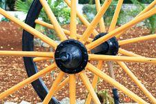 Wagon Wooden Wheel Royalty Free Stock Image