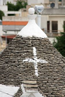 Free Trulli Roof Royalty Free Stock Photography - 5695627