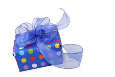 Free Blue Gift Box Royalty Free Stock Image - 5695776