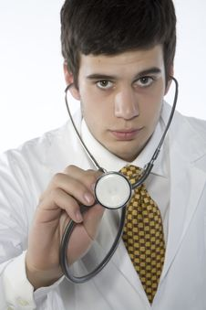 Free Young Doctor Royalty Free Stock Photography - 5696247