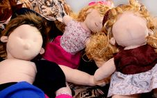 Free Exhausted Dolls Stock Images - 5696624