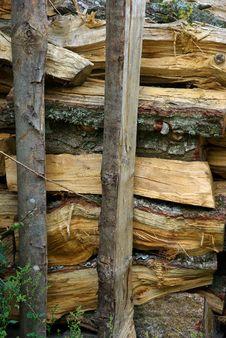 Wood Stock Stock Photography