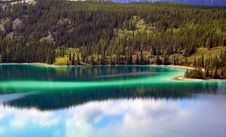 Free Green Jade Lake Royalty Free Stock Photo - 5697005