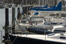 Boats Pier Marina Stock Photos