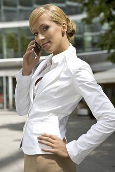 Free Blonde Businesswoman Stock Photos - 5697153