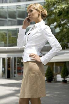 Free Blonde Businesswoman Stock Photos - 5697183