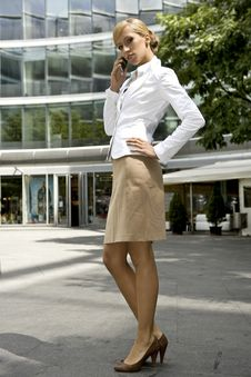 Free Blonde Businesswoman Stock Images - 5697184
