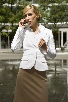 Free Blonde Businesswoman Royalty Free Stock Photos - 5697218