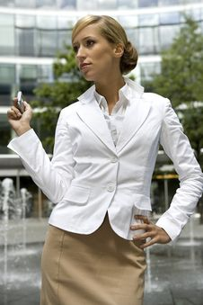 Free Blonde Businesswoman Royalty Free Stock Photography - 5697277