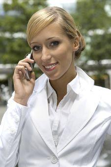 Free Blonde Businesswoman Royalty Free Stock Photos - 5697278