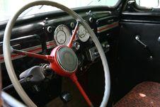Free Vintage Car Interior Stock Image - 5697281