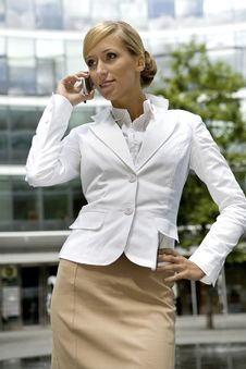 Free Blonde Businesswoman Stock Photo - 5697320