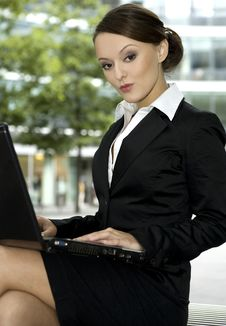 Free Young Businesswoman Royalty Free Stock Photo - 5697395