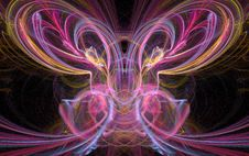 Free Butterfly Fractal Stock Image - 5697401