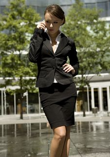 Free Young Businesswoman Royalty Free Stock Photos - 5697418