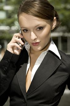 Free Young Businesswoman Royalty Free Stock Photo - 5697475