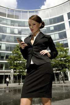 Free Young Businesswoman Royalty Free Stock Image - 5697486