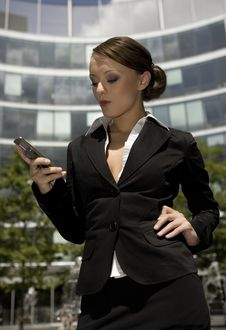 Free Young Businesswoman Royalty Free Stock Image - 5697506