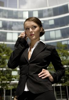 Free Young Businesswoman Royalty Free Stock Photos - 5697518