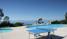 Free Poolside At Le Lavandou Royalty Free Stock Images - 5697539