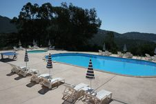 Free Poolside At Le Lavandou, French Riviera Stock Photography - 5697602