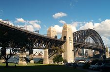 Harbour Bridge Royalty Free Stock Photography