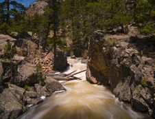 Free Rapids In The Rocky Mountains Stock Photo - 5697880