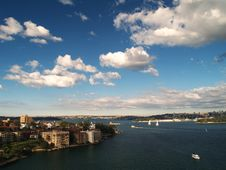 Free City Of Sydney Royalty Free Stock Photography - 5697917