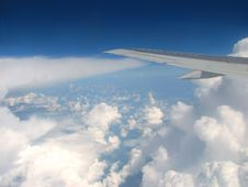 Free Clouds Above Horizon Royalty Free Stock Image - 5698226