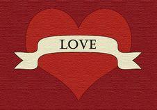 Free Velvet Heart Royalty Free Stock Image - 5698336