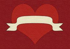 Free Velvet Heart2 Royalty Free Stock Photography - 5698417