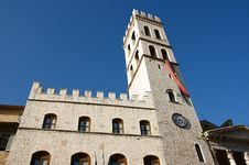Free Tower Of Assisi Royalty Free Stock Photography - 5698627