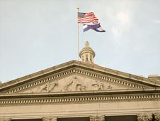 Free Capitol State Flags Royalty Free Stock Photo - 5698715