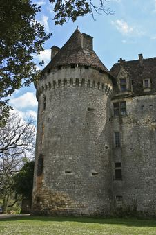 French Castle Tower Stock Photos