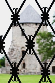 Free Iron Decorative Lattice Royalty Free Stock Photo - 5698945