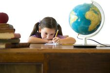 Free Girl Pupil Stock Photo - 5699170