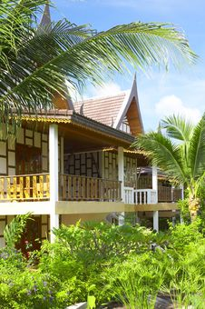 Free Thai Style House Stock Photography - 5699172