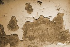 Ragged Wall Background Royalty Free Stock Photography