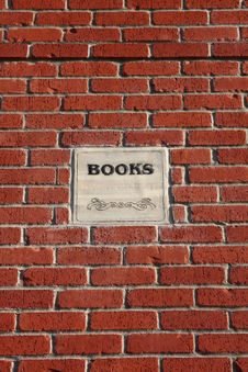 Free Brick And Mortar Books Royalty Free Stock Photos - 5699418
